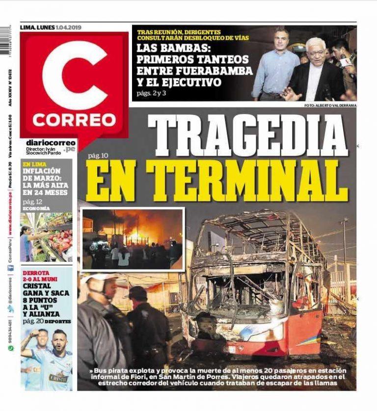 Diario Correo- Las Bambas: Primeros tanteos entre Fuerabamba y el Ejecutivo