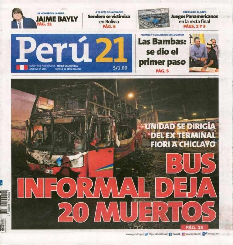 Perú 21-Las Bambas: se dio el primer paso