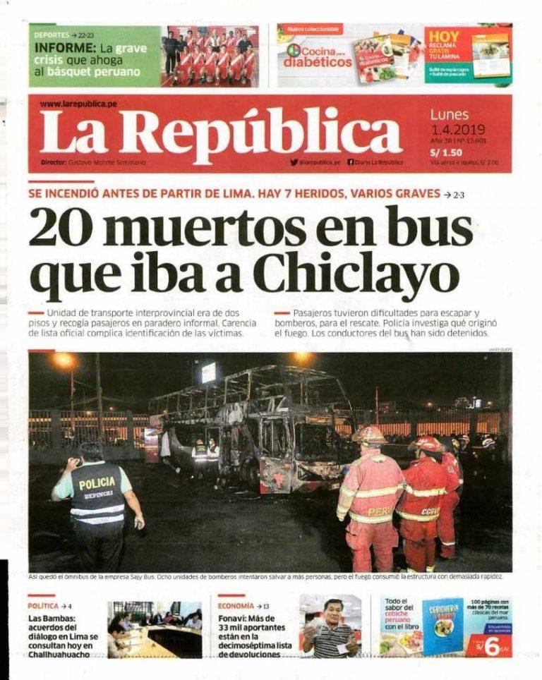 Diario La República: Las Bambas: acuerdos del diálogo en Lima se consutan hoy en Challhuahuacho